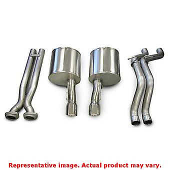 CORSA Performance Cat Back Exhaust 14451 Polished Fits:JEEP 2006 - 2010 GRAND C