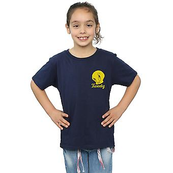 Looney Tunes Girls Tweety Pie Head T-Shirt