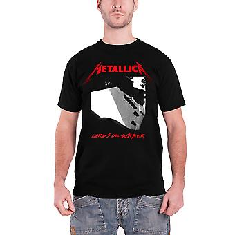 Metallica T Shirt Lords Of Summer band logo new Official Mens Black