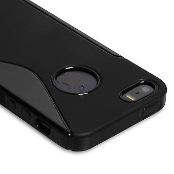Caseflex Iphone 5 And 5s S-Line Gel Case - Black