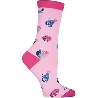 Shag Novelty Crew Socks-Tropical Drinks SGWFH-7H011