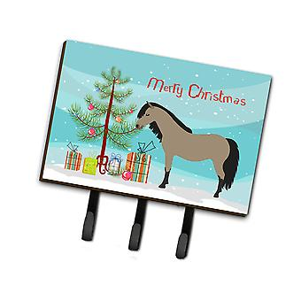 Carolines Treasures  BB9277TH68 Welsh Pony Horse Christmas Leash or Key Holder