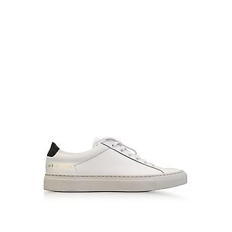 Common projects ladies 38180506 White leather of sneakers