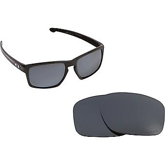 Best SEEK Replacement Lenses Compatible for Oakley SLIVER Black Iridium