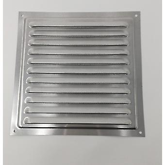 Air Vent Grill – 200 x 200 mm Metall - Aluminium Rost frei mit Moskito / Bug Net