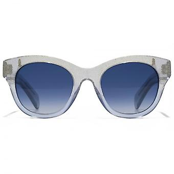 Wildfox Monroe Sunglasses In Crystal Cove Blue Gradient