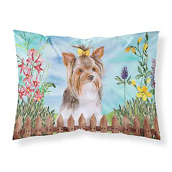 Yorkshire Terrier #2 Spring Fabric Standard Pillowcase