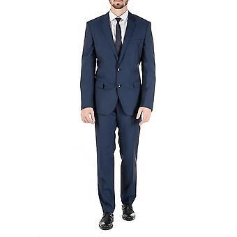 Hugo Boss Mens Suit Blue Huge Genius