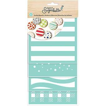 Sweet Sugarbelle Decorating Stencil 8/Pkg-Patterns SB342057