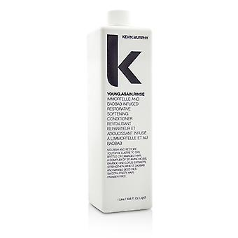 Kevin Murphy Young.Again.Rinse (Immortelle and Baobab Infused Restorative Softening Conditioner - To Dry, Brittle or Damaged Hair) 1000ml/33.6oz