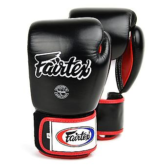 Fairtex Boxing Gloves 3 Tone - Black