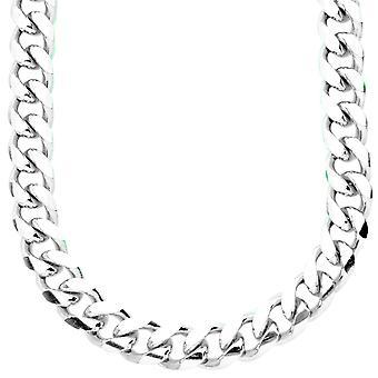 Sterling 925 Silver curb chain - MIAMI CUBAN 10 mm