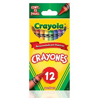 Crayola 12 Crayola Waxes (Babies and Children , Toys , School Zone , Drawing And Color)