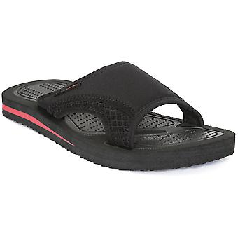 Trespass Mens Garo Comfortable Cushioned EVA Textile Slide Sandals