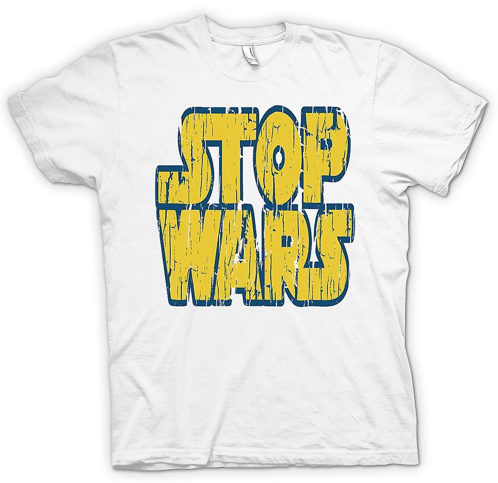 Damen T-Shirt - Stop Wars (Star Wars) - Conspiracy - Lustiges