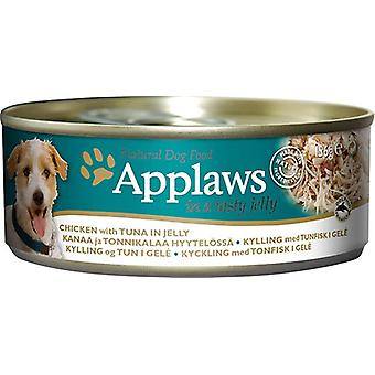 Applaws Dog Can Food Chicken With Tuna In Jelly