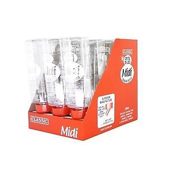 Klassiska De Luxe Colortone kanin flaska 320ml 2pack Midi