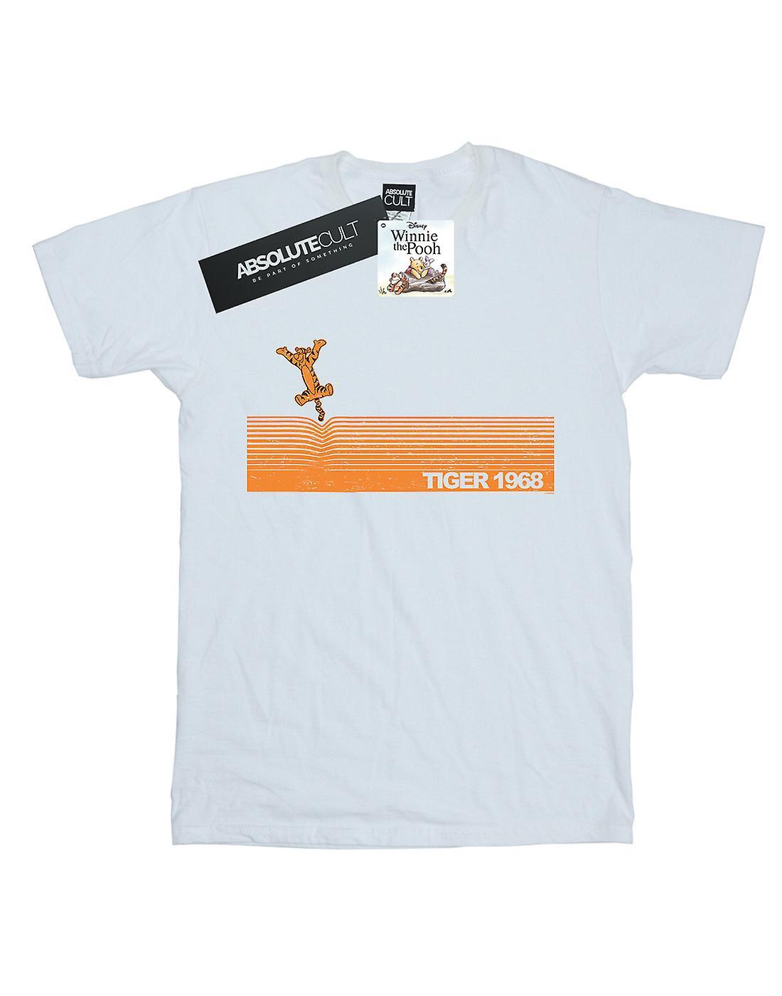 Disney Women's Winnie The Pooh Tigger 1968 Boyfriend Fit T-Shirt