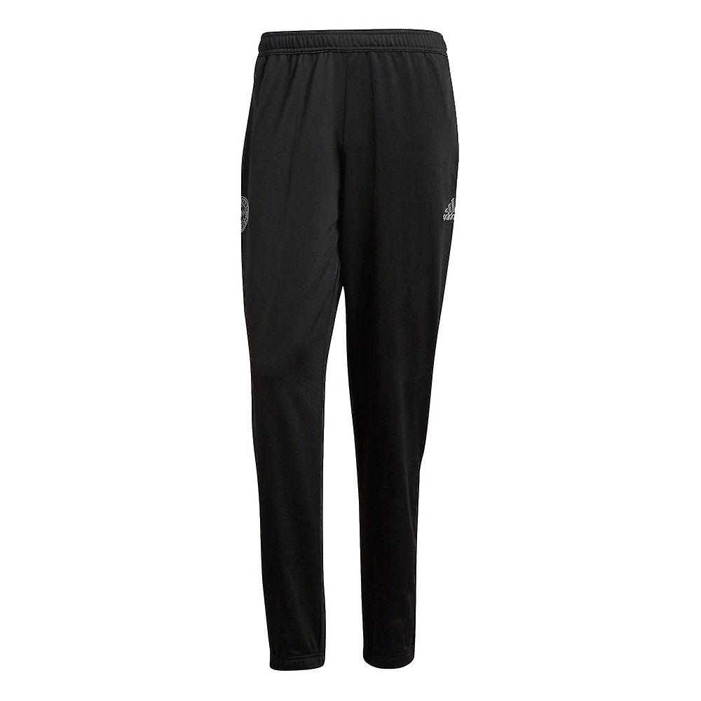 2018-2019 Bayern Munich Adidas Lifestyle Sweat Pants (Carbon)