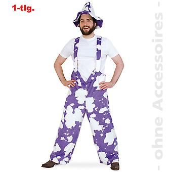Cow pants costume mens cow patch purple cow chocolate men costume