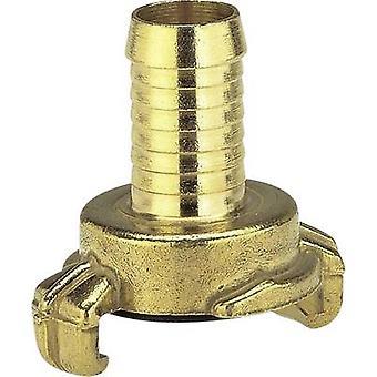 Acoplamiento de garra cerradura de latón - acoplador de manguera de la mandíbula del conector, 16-19 mm (3/4) Ø