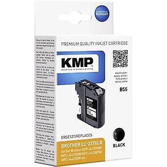 KMP Ink replaced Brother LC-227XLBK Compatible Black B55 1531,4001
