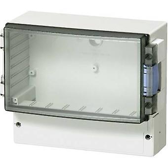 Controller enclosure 160 x 166 x 134 Acrylonitrile butadiene styrene Smoke gre