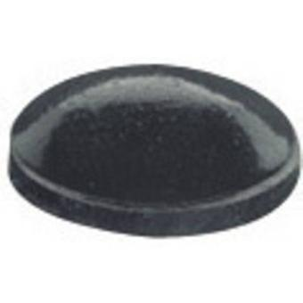 PB Fastener BS-27-BK-R-5 Foot self-adhesive, circular Black (Ø x H) 7.9 mm x 2.2 mm 5 pc(s)