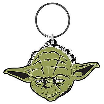 Yoda Star Warspvc Flexible Schlüsselanhänger
