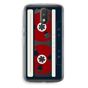 Motorola Moto G4/G4 Plus Transparent Case - Here's your tape
