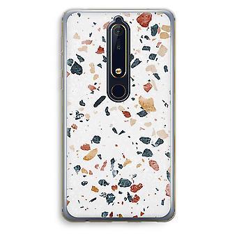 Nokia 6 (2018) Custodia trasparente - Terrazzo N ° 4