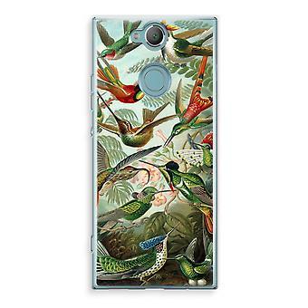 Sony Xperia XA2 Transparent Case (Soft) - Haeckel Trochilidae