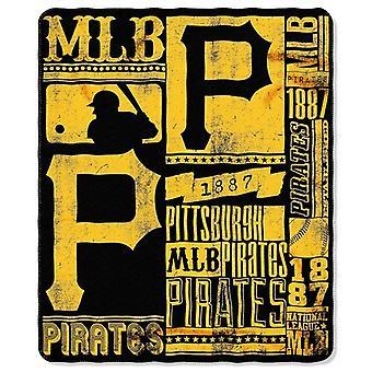 Pittsburgh Pirates MLB Northwest Fleece Throw