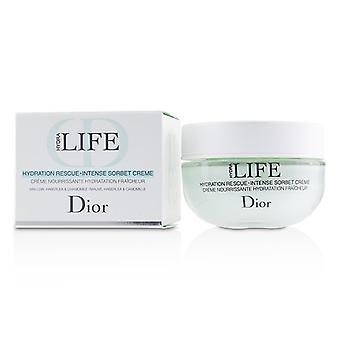 Christian Dior Hydra Life Hydration Rescue Intense Sorbet Creme - 50ml/1.7oz