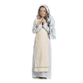 Jungrauf Maria girl costume nativity play Childs costume