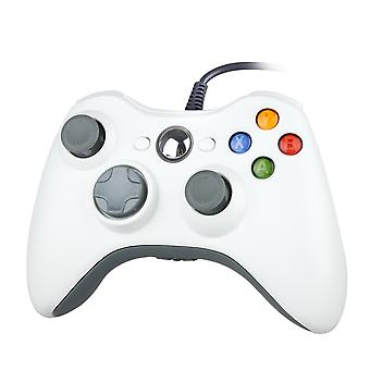 Wired controller for Windows and Xbox 360-White
