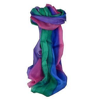 Шелковица шелка ручной окрашенных длинный шарф Kher радуги палитру из пашмины & шелка