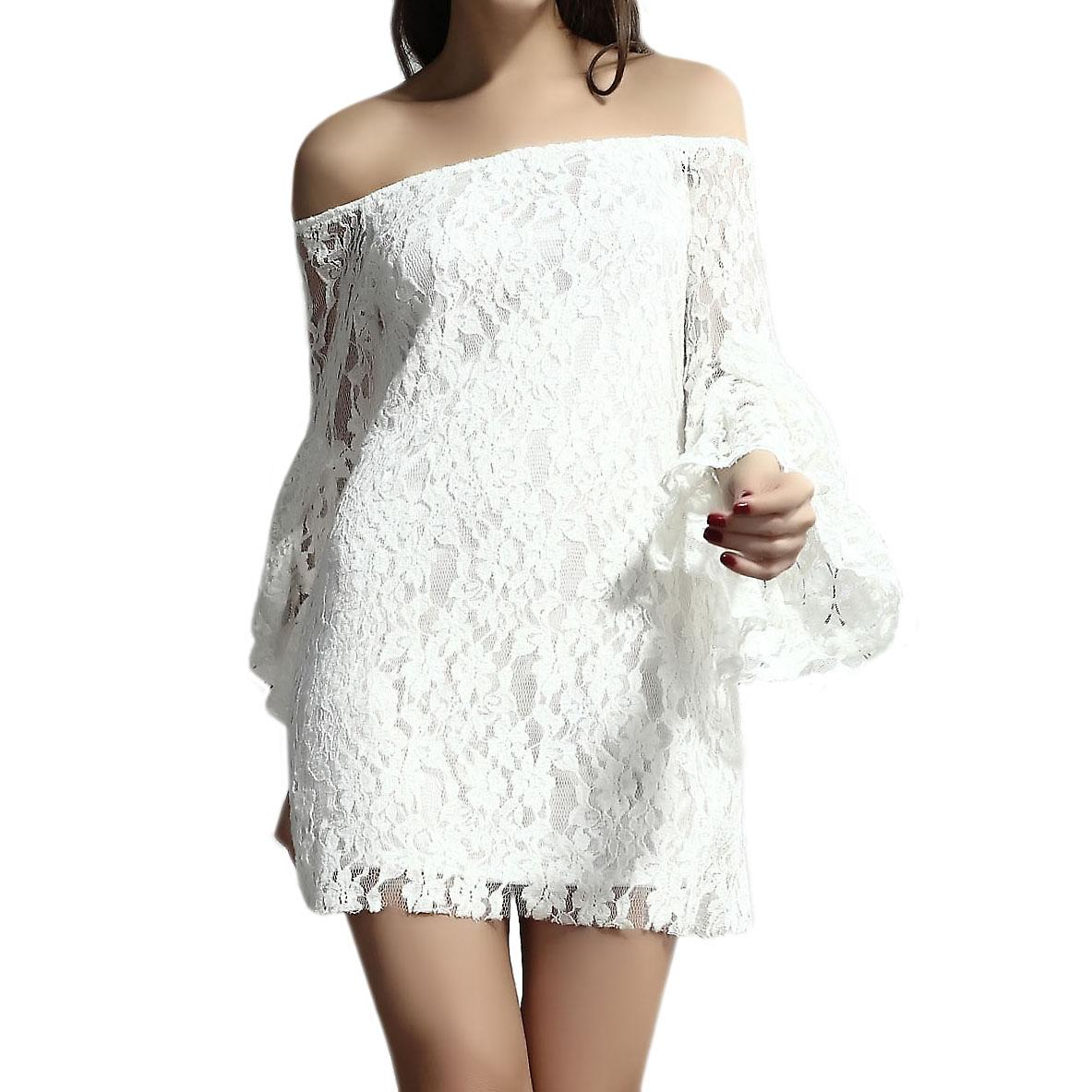 Waooh - Fashion - In Short Dress With Lace Wheel