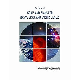 Tarkastelun tavoitteet ja suunnitelmat NASAn tilaa ja Geotieteet jonka ruudun