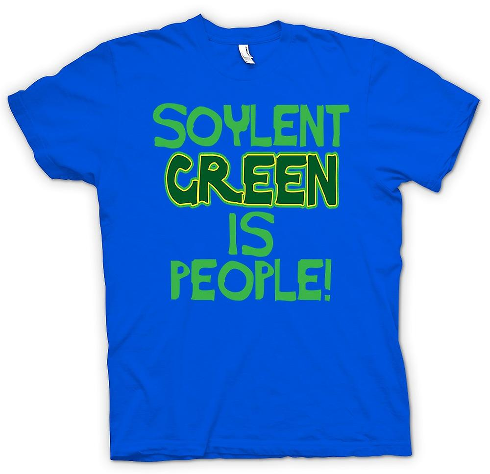 Mens T-shirt - Soylent Green Is People - Funny