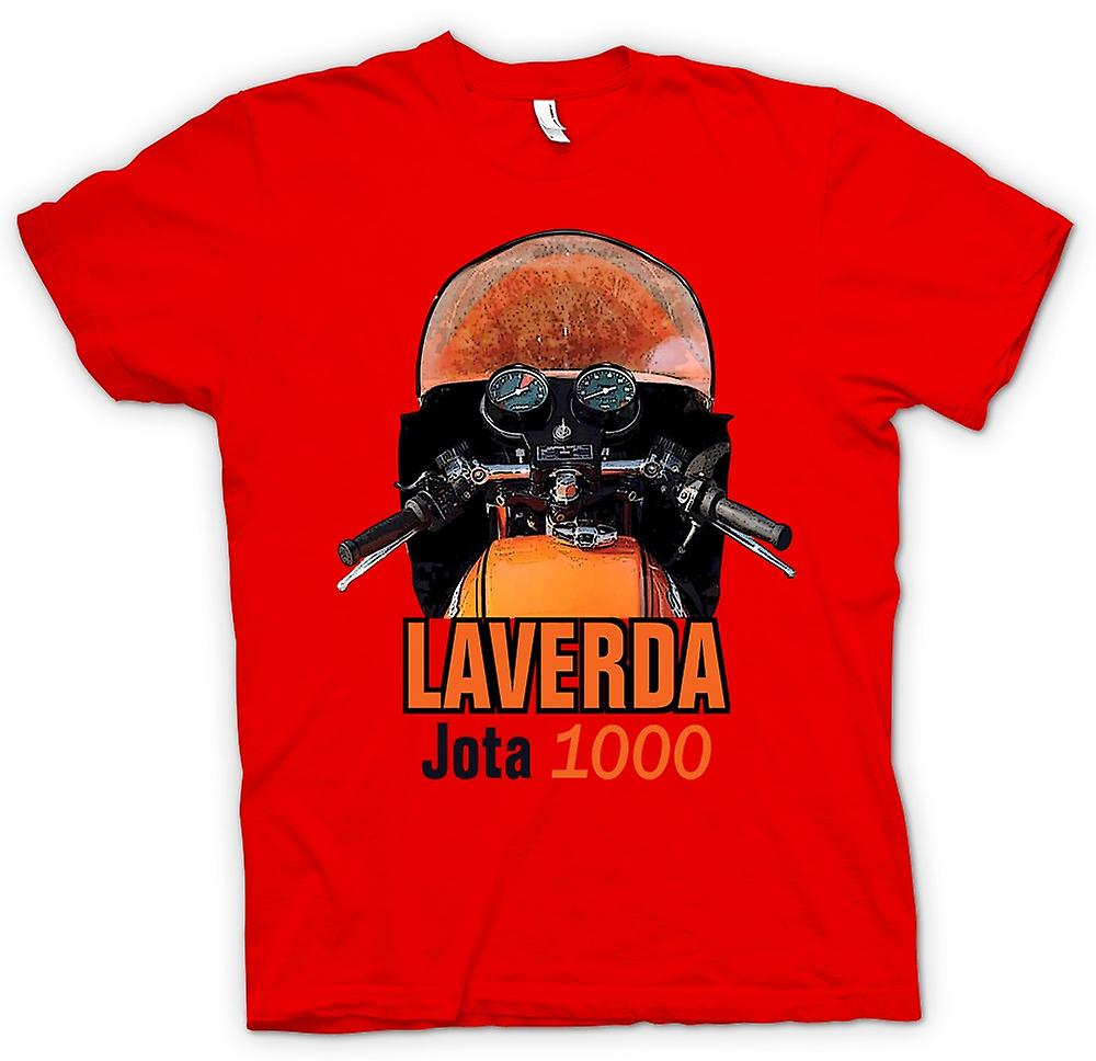 Mens T-shirt - Laverda Jota 1000 Classic Bike