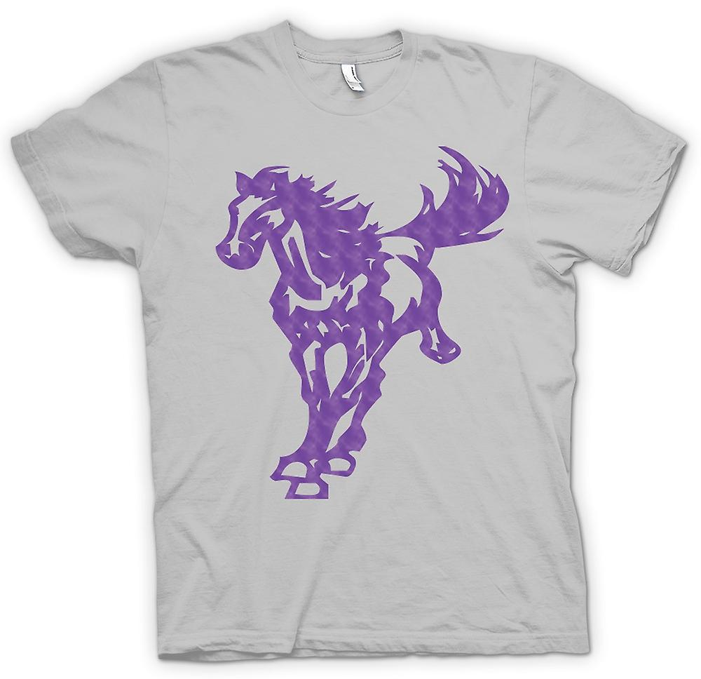 Heren T-shirt - paard galopperen - Cool