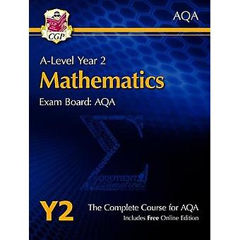 New A-Level Maths for AQA - Year 2 Student Book with Online Edition by