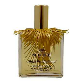 Nuxe Huile Prodigieuse dry oil facial body hair 100 ml limited edition
