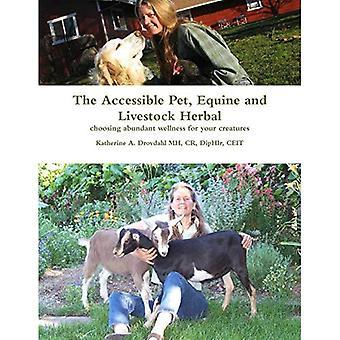 De toegankelijke huisdier, paarden en vee kruiden: kiezen van overvloedige wellness voor uw schepselen