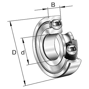 Fag 6306-2Z-C3 Super Pop Deep Groove Ball Bearing