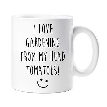 أحب الحدائق من الطماطم رئيس بلادي! القدح