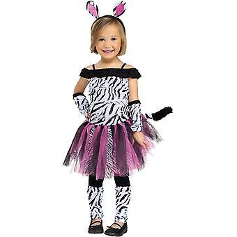 Cute Zebra Toddler Costume