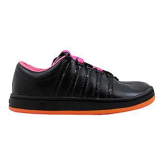 K Swiss The Classic Black/Neon Pink  Women's 92248051 Size 6 Medium