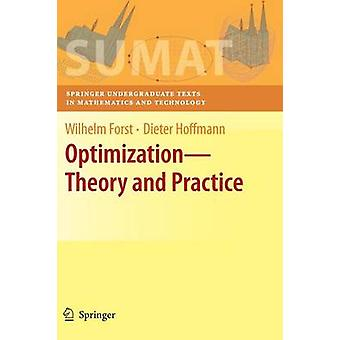 Optimization Theory and Practice by Forst & Wilhelm